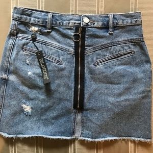 Blank NYC Jean Skirt Size 26 New with Tags